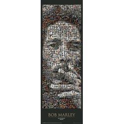 Posters Puerta Bob Marley Mosaic