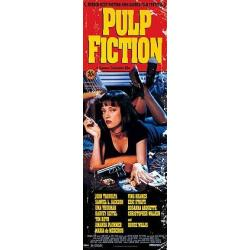 Posters Puerta Pulp Fiction Uma On Bed