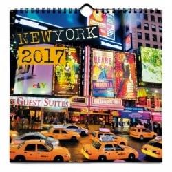 Calendario 24x24 2017 Nueva York
