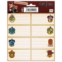 Etiquetas Harry Potter