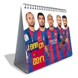 Calendario Sobremesa Deluxe 2017 FC Barcelona