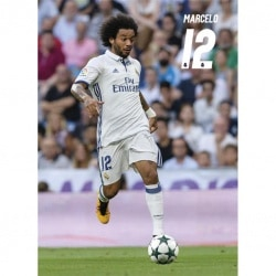 Postal Real Madrid 2016/2017 Marcelo Accion