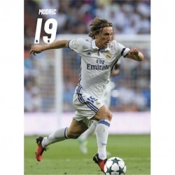 Postal Real Madrid 2016/2017 Modric Accion