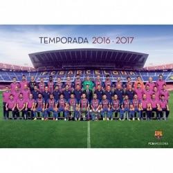 Postal Fc Barcelona 2016/2017 Plantilla