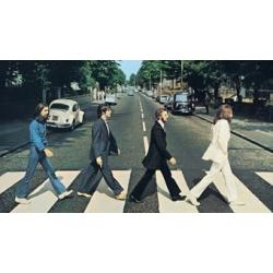 Pegatina Vinilo Beatles Abbey Road