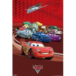 Poster Cars 2 Todos