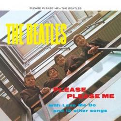 Pegatina Vinilo Beatles Please Please Me