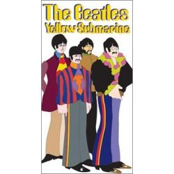 Pegatina Vinilo Beatles Sub Band