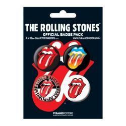 Pack Chapas Rolling Stones