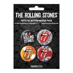 Pack Chapas Rolling Stones 2