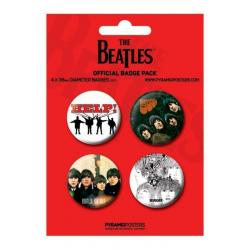 Pack Chapas The Beatle Rojo