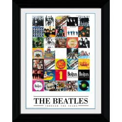 Foto Prints Enmarcado The Beatles Throught The Years