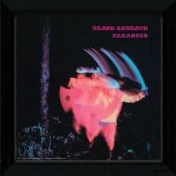 Foto Prints Enmarcado Black Sabbath Paranoid