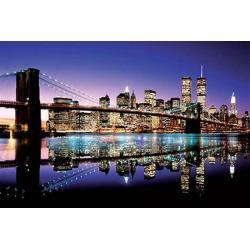 Poster Puente de Brooklyn en Color