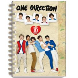 Cuaderno Tapa Dura A5 One Direction