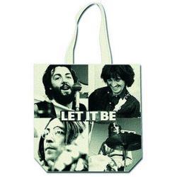 Bolsa Los Beatles  Let It Be  Black & White