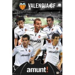 Poster Valencia F.C. Amunt