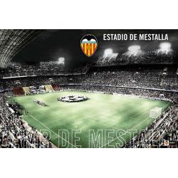 Poster Valencia F.C. Mestalla