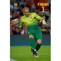 Poster F.C. Barcelona Valdes