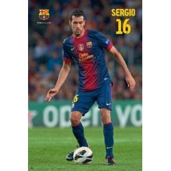 Poster F.C. Barcelona Busquets