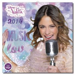 Calendario de Pared 2014 Disney Violetta