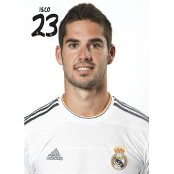 Postal Real Madrid Isco 2013-14