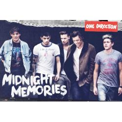 Maxi Poster One Direction Midnigth Memories
