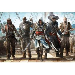 Poster Assassins Creed 4 Grupo