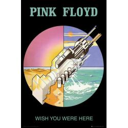 Poster Pink Floyd Wish You Were Her 2