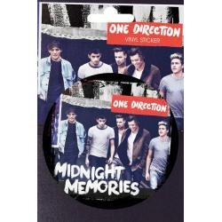 Pegatina Vinilo One Direction Midnight Memo