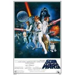 Poster Star Wars La Guerra de la Galaxias