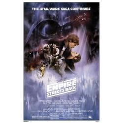 Poster Star Wars El Imperio Contraatraca