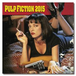 calendario de pared 2015 pulp fiction