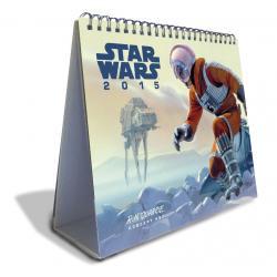 calendario sobremesa de luxe-2015 star wars