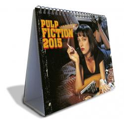 calendario sobremesa de luxe - 2015 pulp fiction