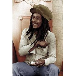 Poster Bob Marley Gorra