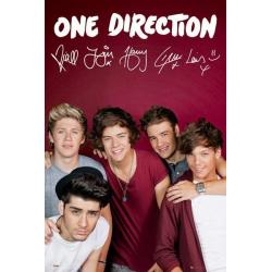 Poster One Direction Maroon