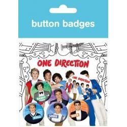 Pack Chapas One Direction Dibujos