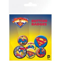 Pack de chapas Superman Comic Style