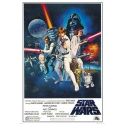 Poster Gigante Star Wars A New Hope One Sheet B