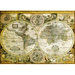 Poster Gigante World Map Historical