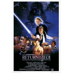 Maxi Poster Star Wars Return Of The Jedi One Sheet