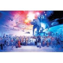 Maxi Poster Star Wars Complete Cast