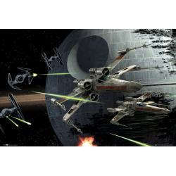 Maxi Poster Star Wars Death Star Battle