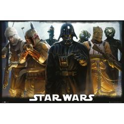 Maxi Poster Star Wars Bounty Hunters