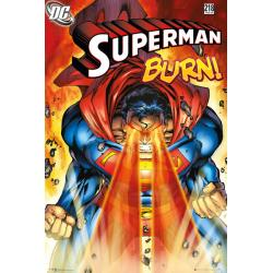 Maxi Poster Superman Burn