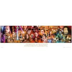 Poster Slim Star Wars Complete Saga