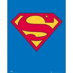 Mini poster Superman Classic Logo