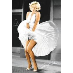 Poster Marilyn Monroe La Tentacion Vive Arriba