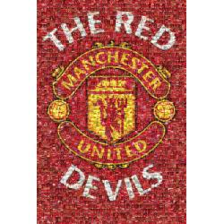 Maxi Poster Manchester United Mosaic